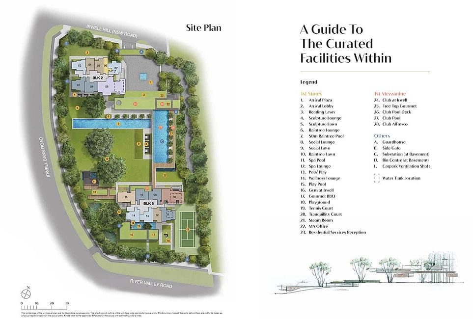 Irwell Hill Residences Site Plan